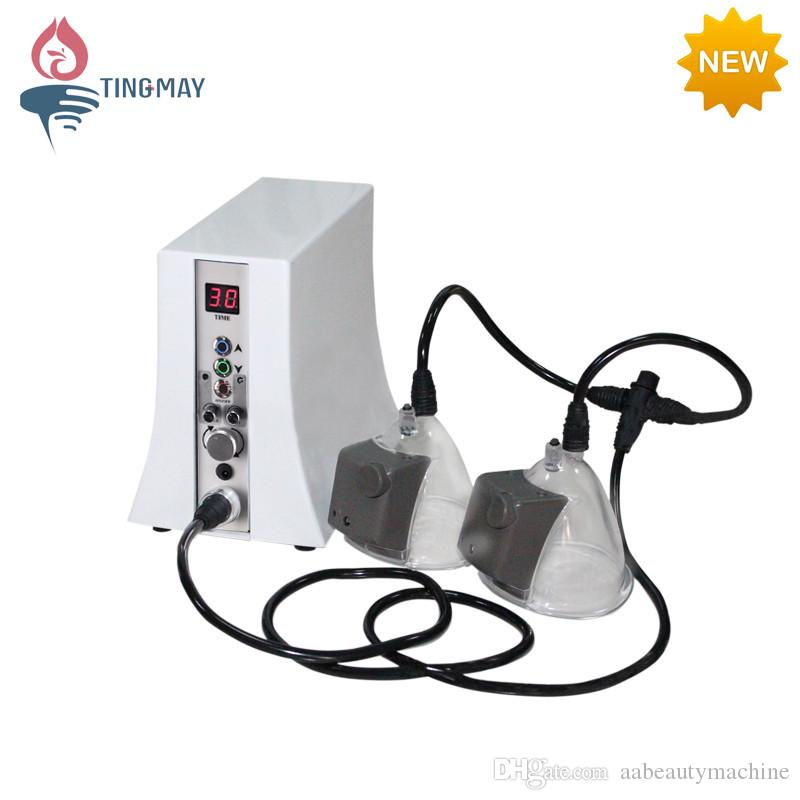 Freeship Vacuum Massage Therapy Ingrandimento ingrandimento del seno Pompa Sollevamento del seno Enhancer Massager Busto Cup Body Shaping Beauty Machine