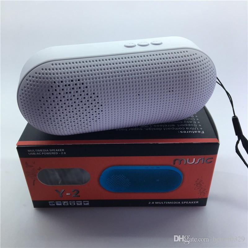 Capsule pill Y2 wireless bluetooth speaker Metal Bass socket mini box portable small sound speaker