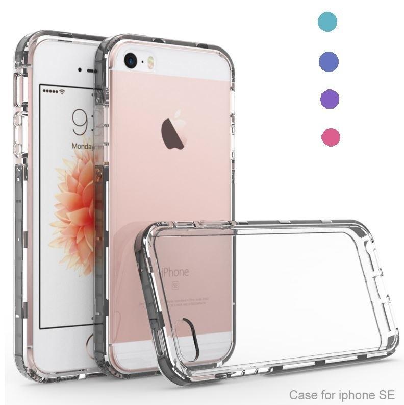 Funda Silicona iPhone 5 5S SE Transparente