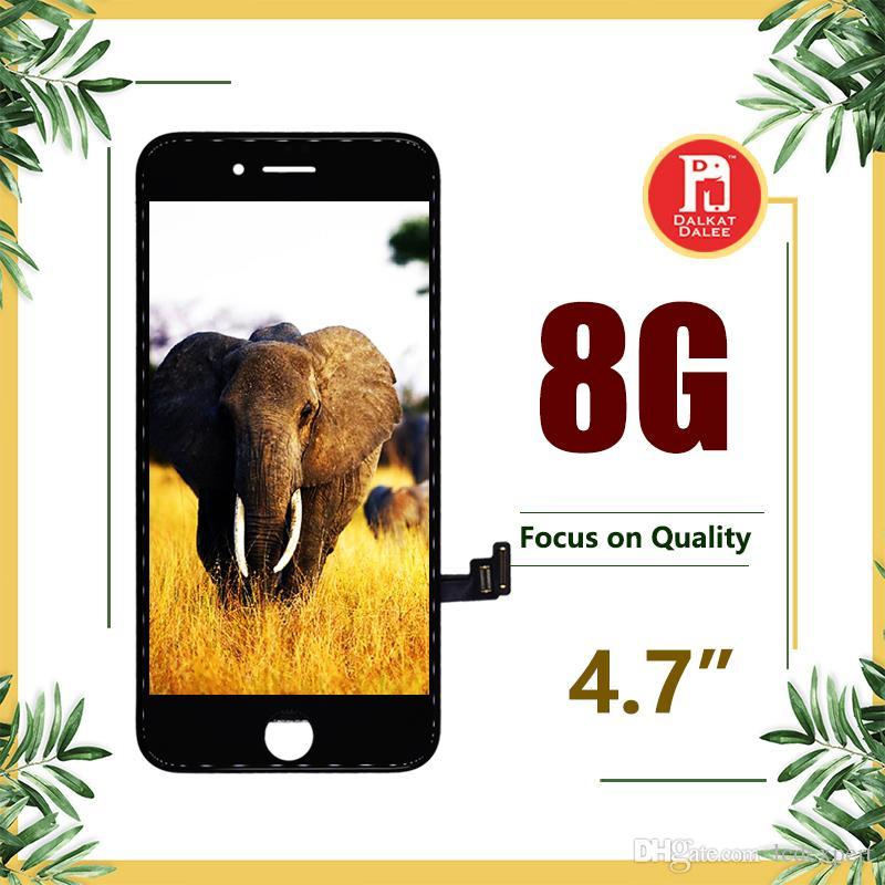 "Para iphone 8 lcd screen para tianma qualidade display lcd touch digitador tela completa para iphone 8g 4.7 ""frete grátis dhl"