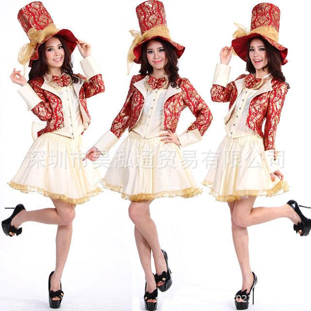 Free Pp Women Mad Hatter Costume Adult Alice In Wonderland Costume Cosplay Halloween Costumes For Women Magician Fancy Dress Group Halloween Costumes Kids Costumes From Flowter 88 05 Dhgate Com