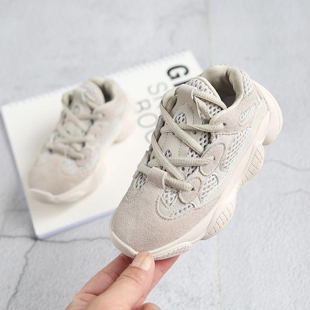 jungen markenschuhe kinder sneaker sportschuhe schwarze und beige mesh atmungsaktive laufschuhe für mädchen