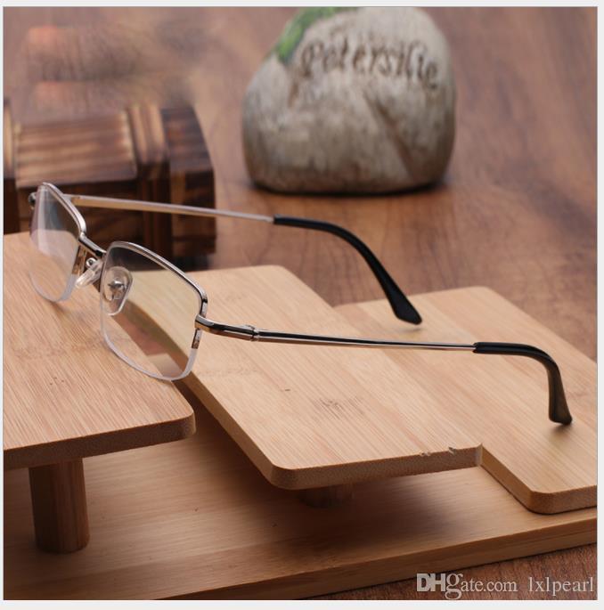 Brillenfassungen, männlich und weiblich, presbyopische Brille, Metallharzfilm