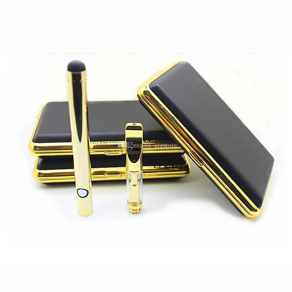 O pen kit 510 thread Co2 oil Ceramic coil atomizer pyrex Glass tank electronic cigarette 280mah 92a3 starter kits 0.5ml 1.0ml