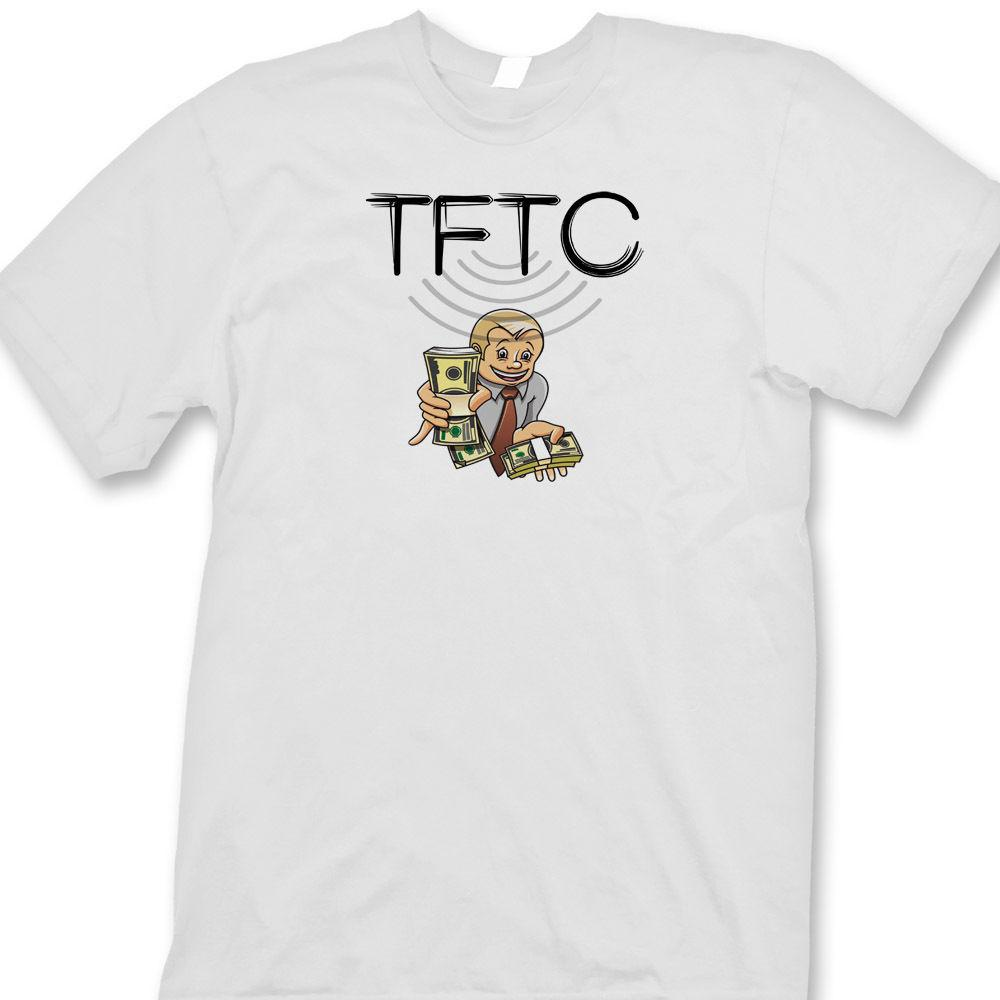 TFTC Thanks For The Cache Funny T-shirt Geocaching Treasure GPS Tee Shirt