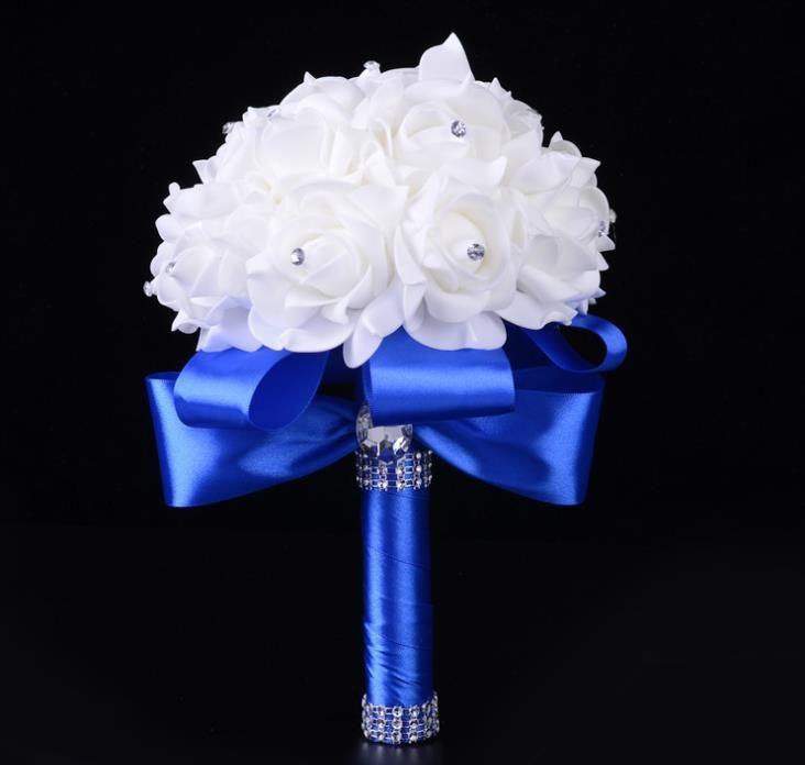 Gelin Holding Çiçekler Toptan Düğün Köpük Simülasyon Çiçekler Düğün Düğün Çiçekleri