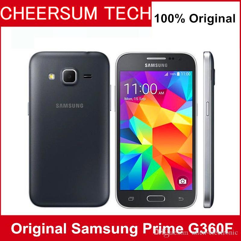 Refurbished Original Samsung Galaxy Core Prime G360F g360 4G LTE Single SIM 4.5 inch Quad Core 1GB RAM 8GB ROM 5MP Camera cellphone