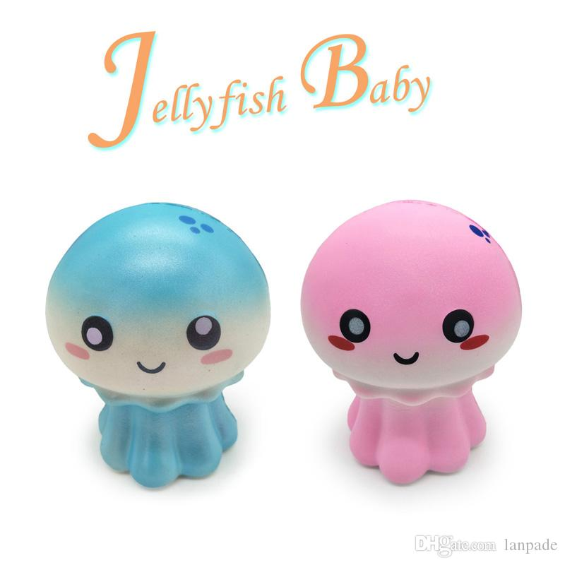 Jellyfish Baby Squishy Scented Squishies