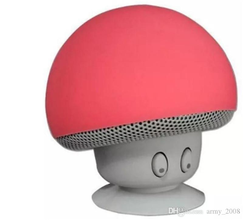 Moda Mushroom Wireless Mini altoparlante Bluetooth stereo portatile impermeabile altoparlante Bluetooth per il telefono mobile iPhone Xiaomi Computer