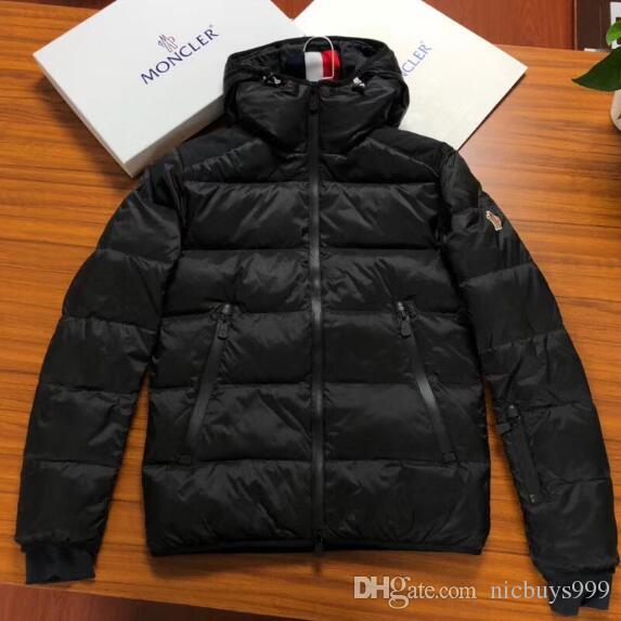 Neue Zip 2018 Designer Thick Herren Großhandel Warm Mantel Black Lose Beiläufige Hochwertige Hoodie Winter Monc Jacke Daunenjacke pVjqzMLSUG