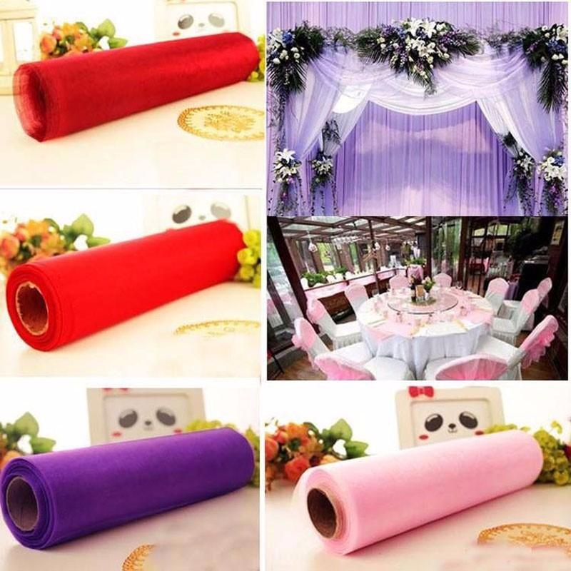 1-5m-Wide-10m-Long-Crystal-Organza-Tulle-Roll-Fabric-Drapes-For-Wedding-Mariage-Birthday-Baby
