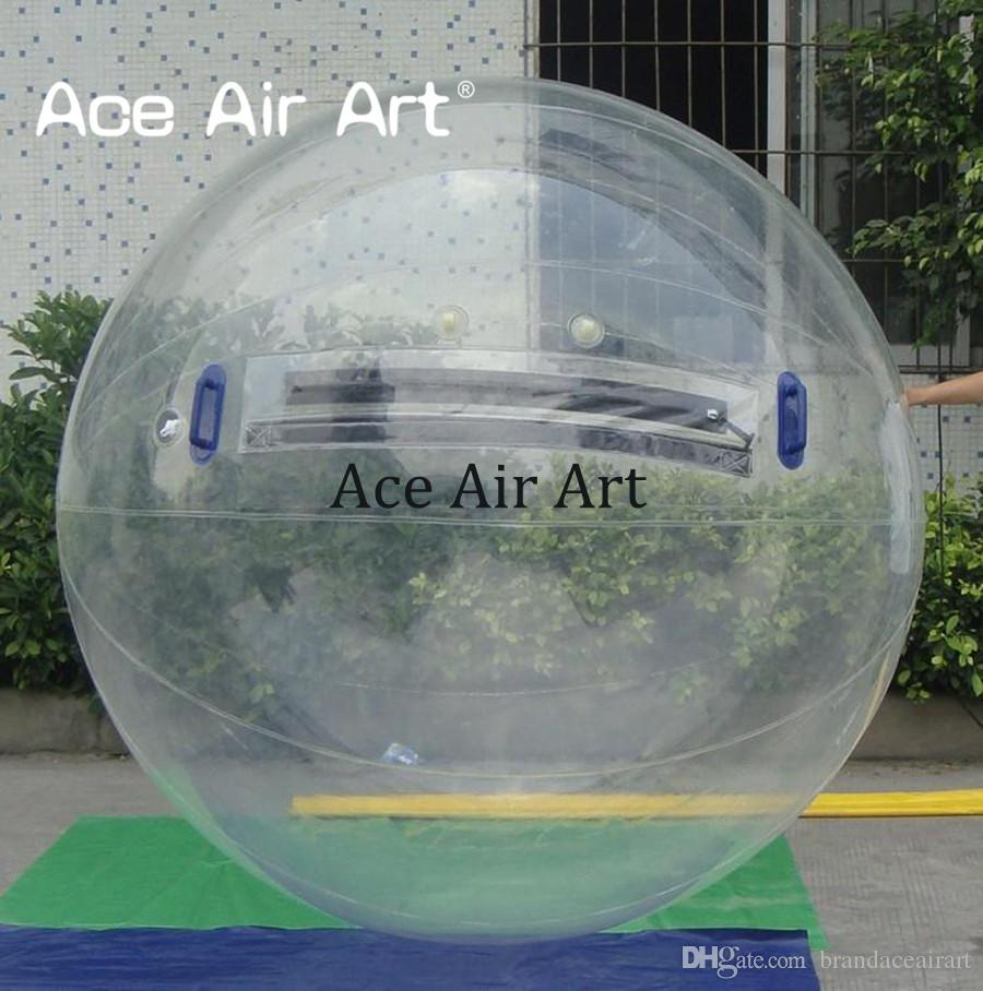 2m diameter inflatable water ball for adult customized color high quality air human hamster ball without air pump