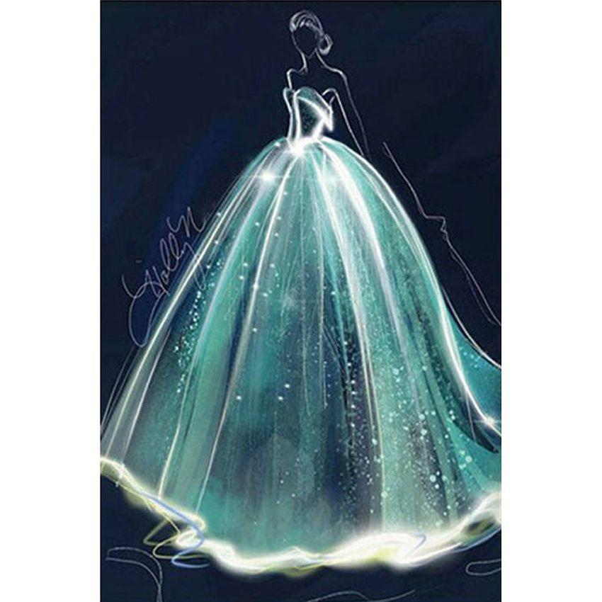 امرأة جميلة الحفر الكامل diy فسيفساء التطريز الماس اللوحة التطريز عبر الابره الحرفية كيت جدار المنزل شنقا ديكور