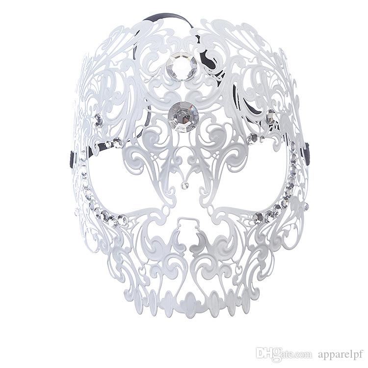 Vendite dirette della fabbrica di maschera di metallo di fascia alta tutte faccia festa