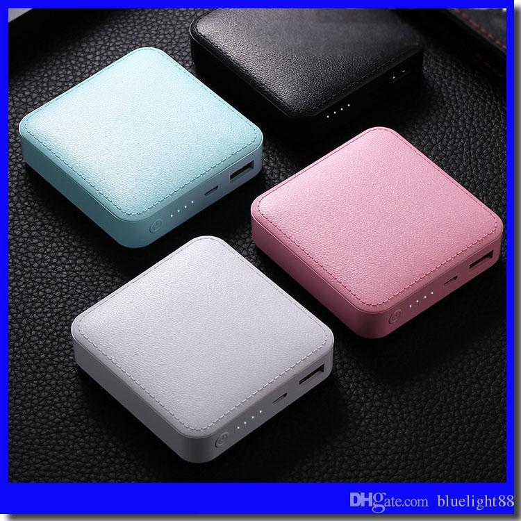 6000mAh Power Bank with USB Port Customizable LOGOFor iPhone Samsung Xiaomi External Battery Portable Phone Charger
