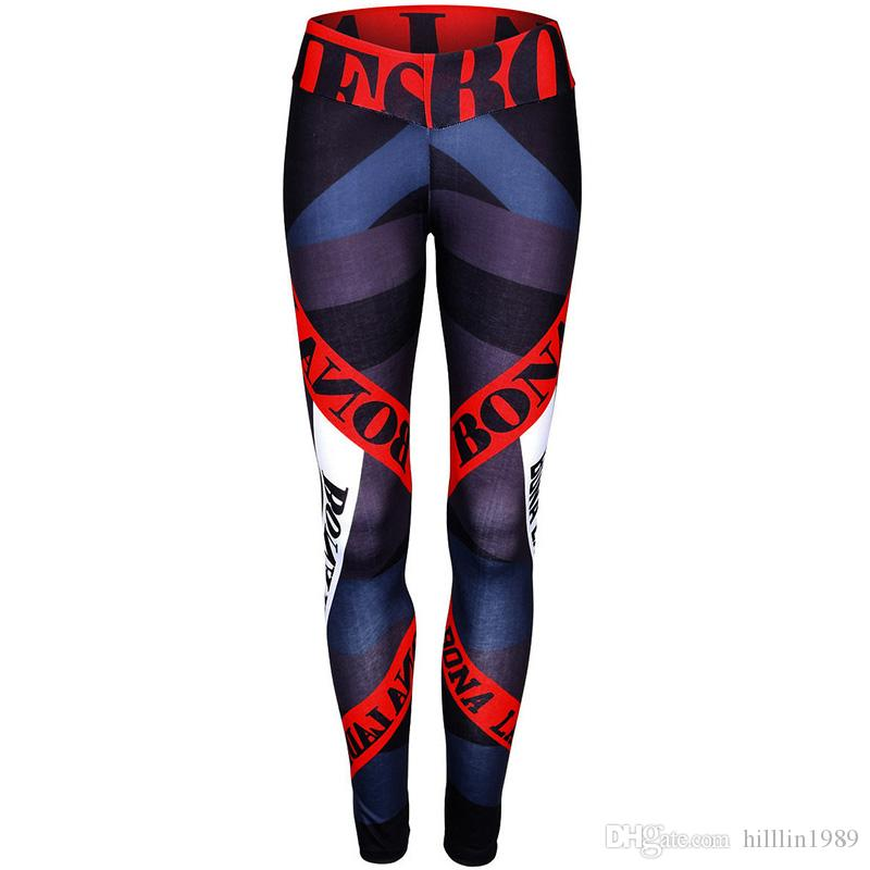 2019 Womens Active Leggings Yoga 3D Printing Athletic Leggings Sexy Running Tights Jogging Fitness Pants For Female From Hilllin1989, $13.05 |