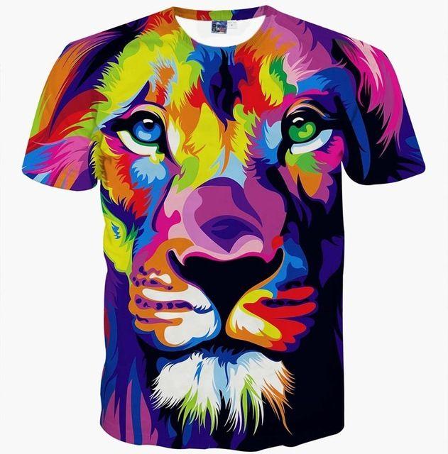 Polyester Çok Güzel Model T-shirt Erkek Kadın 3d T gömlek Komik Baskı Sonbahar Ağacı Boynuzları Geyik Yaz Tops Tees Artı Boyutu XXXL