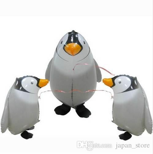 Foil Cartoon Balloon Birthday Wedding Party Decor Balloon Walking Penguin Modeling Inflatable Air Balloons Toy Gifts for Kids