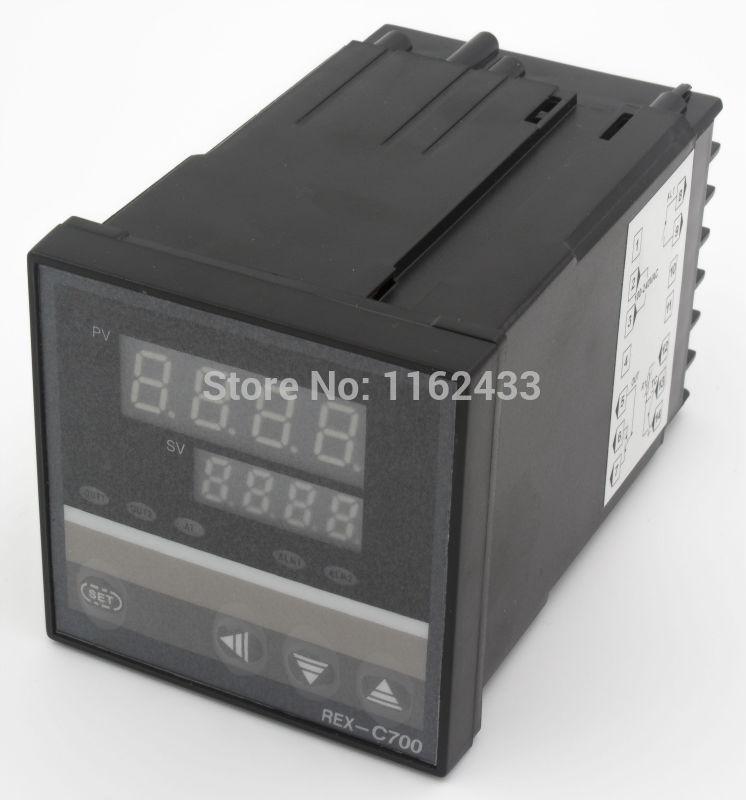 REX-C700 saída de relé termopar RTD entrada digital pid controlador de temperatura