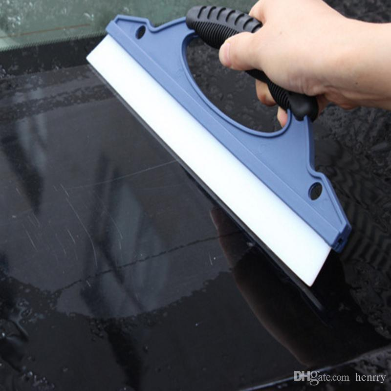 Flat Wiper Car Front Glass Silicone Water Scraper One Word Wiper D Word Silicone Scraper Water Flooding Film Water Knife