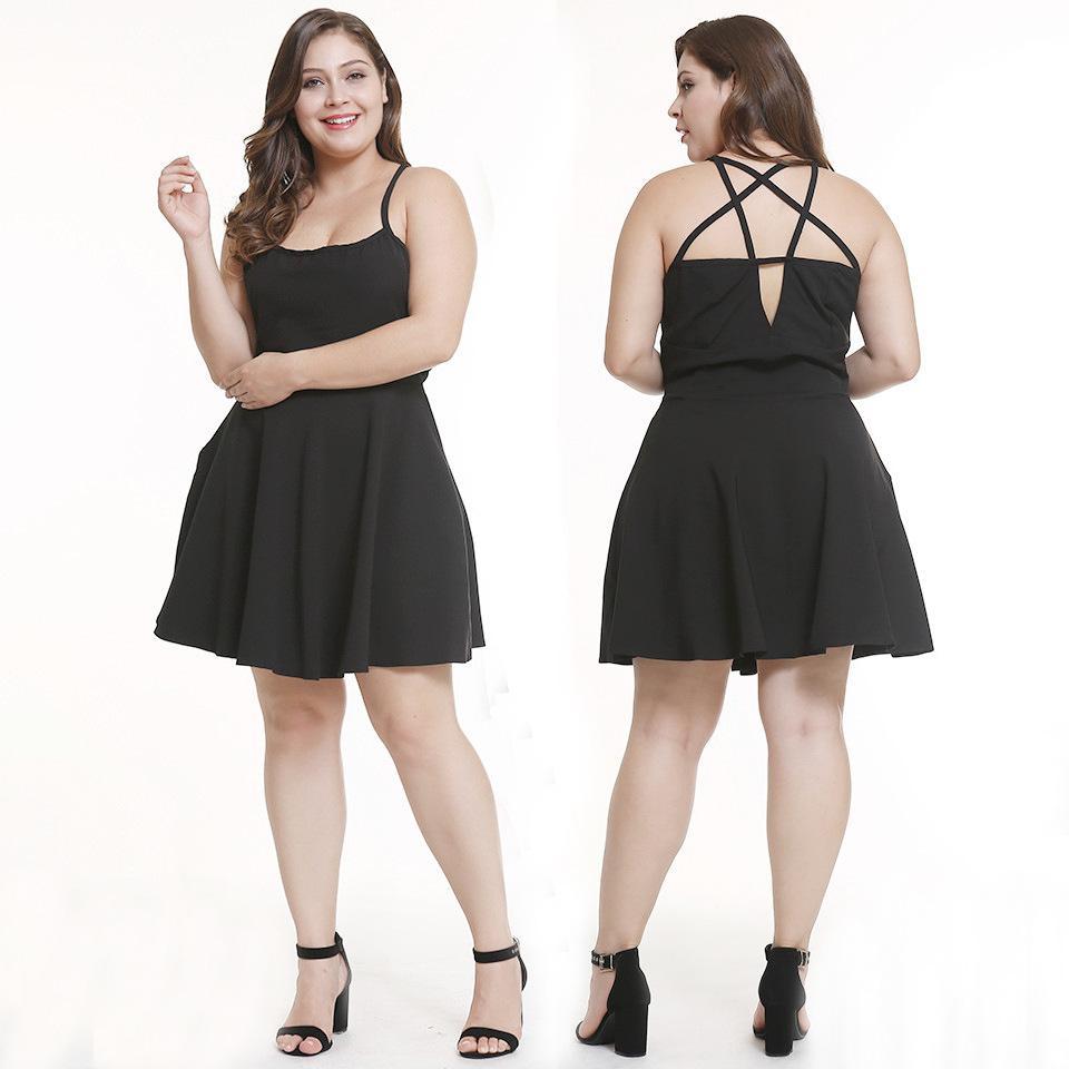 L-3XL женщины новый ремешок платье праздник лето сексуальное тонкие рукава мини платья ночь вечер короткое платье плюс размер