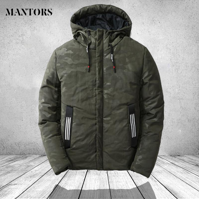 Thick Down Coat Men Parkas Winter Armygreen Blue Casual Hooded Warm Jacket Mens Casaco Masculino Inverno Male Windproof Overcoat