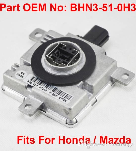 1PCS 12V 35W D4S D4R OEM HID Xenon Headlight Ballast Computer Control Unit Car Vehicle OEM Part Number BHN3-51-0H3 Fits For Honda Mazda