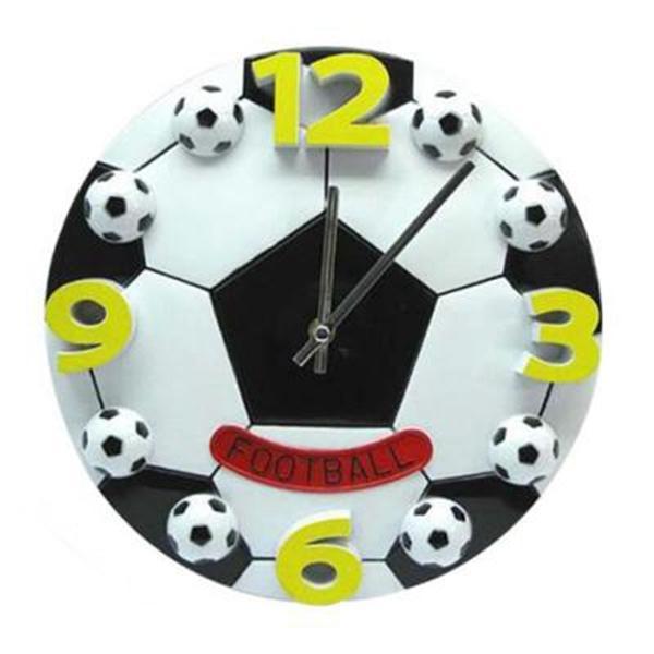 Acheter Creative Coupe Du Monde De Football Salon La Chambre Horloge Murale Mode Horloges Modernes Décoration Horloge Mur Muet Cadeau De 2171 Du
