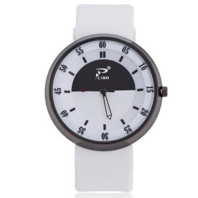 Moda Simples Grande Mostrador de Silicone Relógio de Comércio Exterior Explosão Modelos Estudante Casal Esportes E Lazer Relógios