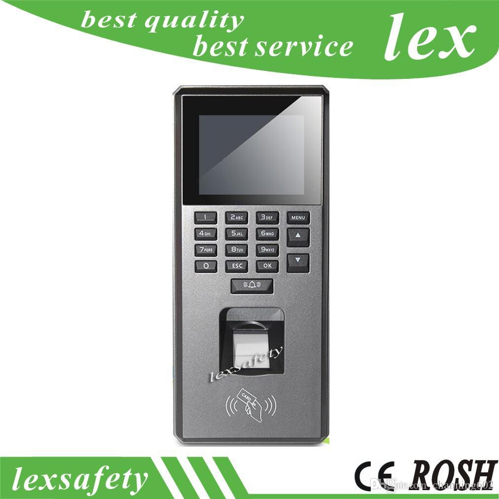 Wiegand26 / 34 id rfid carte temps de présence terminal d'empreintes digitales, clavier d'accès machine électrique de participation pour le système de sécurité