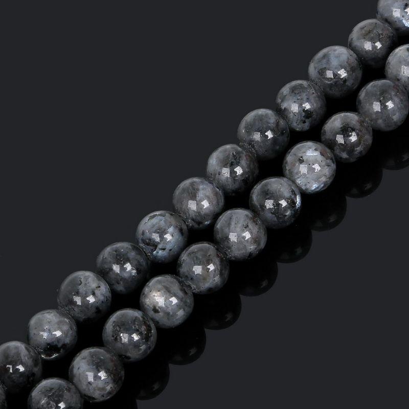 8 미리 메터 새로운 도착 4/6/8/10 미리 메터 38 센치 메터 / 스트랜드 문스톤 구슬 보석 돌 검은 달 돌 라운드 느슨한 구슬 보석 만들기