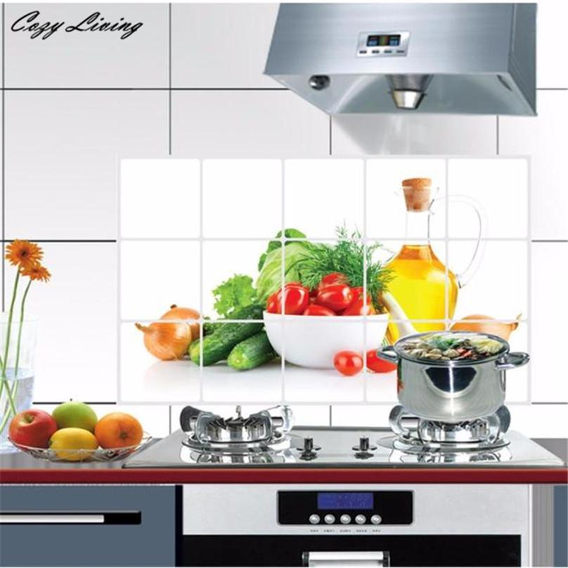Kitchen Wall Stickers Decal Oilproof Removable Art Decor Home Cabinet Tile Carved D12 From Chairdesk 3 98 Dhgate Com