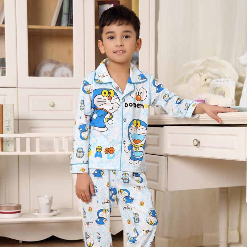 Syue Moon Girls Pigiama Set Kids Turn Collar Pigiama Bambini Confortevole Sleepwear Adolescente Ragazzo Homewear Abbigliamento da notte