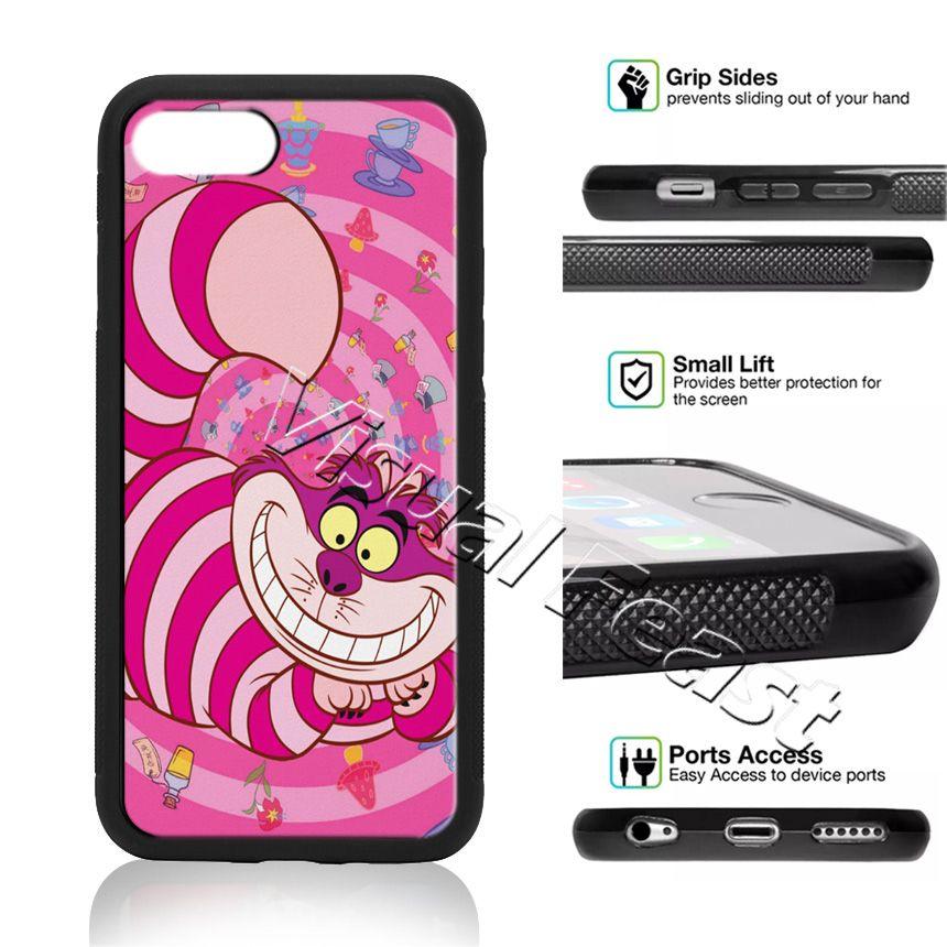 Cheshire Cat Alice Au Pays Des Merveilles Cas De Téléphone Pour IPhone X 8/7/6/6 S Plus 5 S SE Couverture De Téléphone Cadeau Gratuit Proposé Par ...