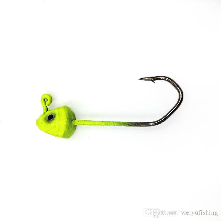 Artificial Fishing Lure 5cm 6g Worm Fishing Lure Lead Jig Hook Fishing Tackle