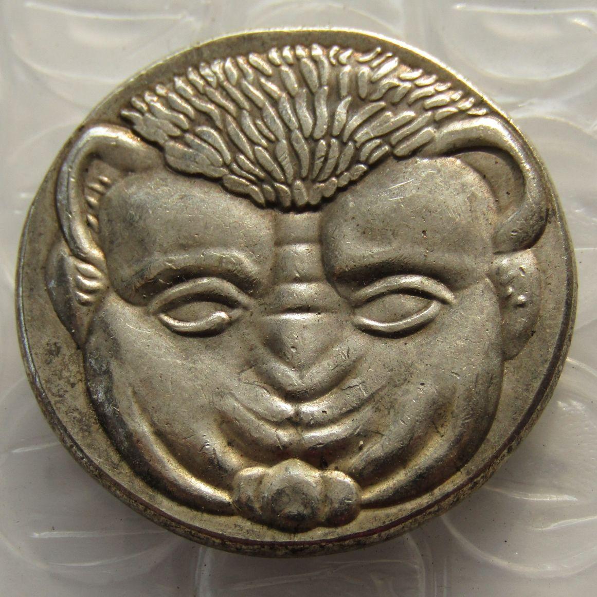 G (32) Repro Ancient Coin Grecia Tetradrachm Bruttium Rhegion Copia Monedas al por mayor