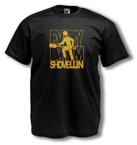 e279bb171 EVERYDAY IM SHUFFLIN SHOVELLIN T SHIRT LMFAO party rock PARODY summer Hot  Sale New Tee Print