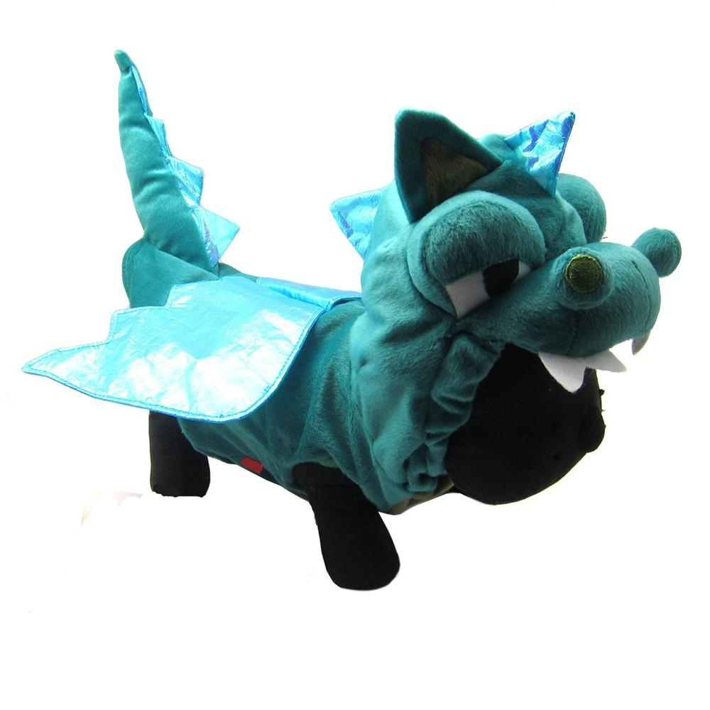 Roupa do gato do traje do cão de estimação do estilo do dinossauro