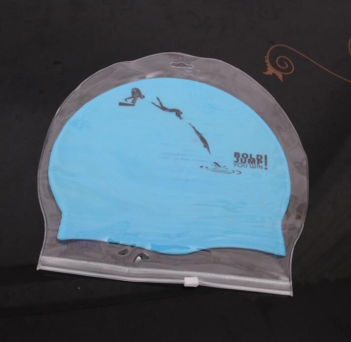 touca de natação listrado com proteção de orelha de silicone earflaps chapéu adultos touca impermeáveis nadar chapéu piscina de banho earmuffs
