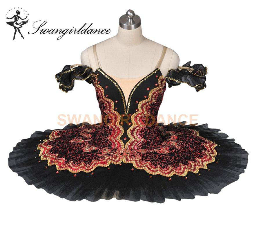 QinCiao Kids Little Girls Sequined Camisole Ballet Dance Tutu Dress Ballerina Skirted Leotard Dance wear Fairy Costumes