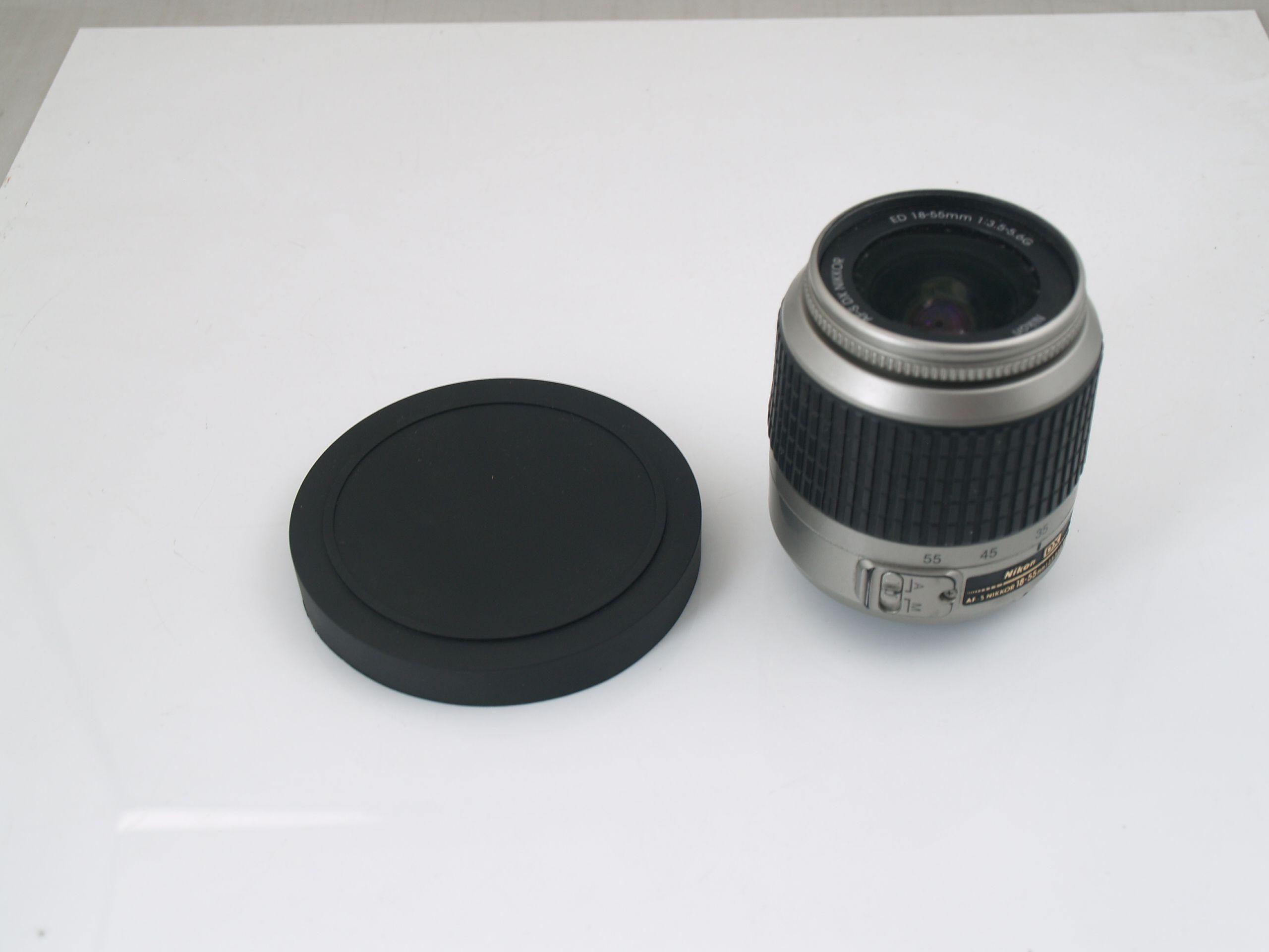 45MM Push ON LENS CAP Front Cover Plastic