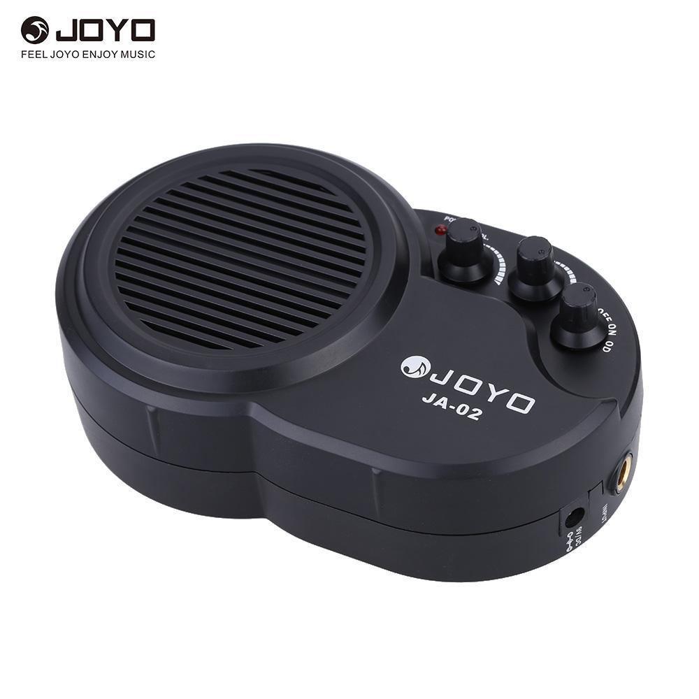 JOYO JA-02 3W Mini ampli guitare électrique haut-parleur avec contrôle de la distorsion de volume