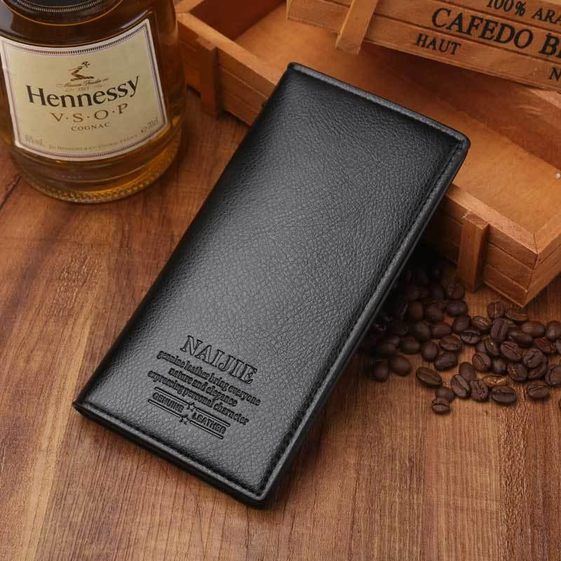 Durable wallet, men's wallet, new style business casual wallet, premium handbag, multi card card bag.