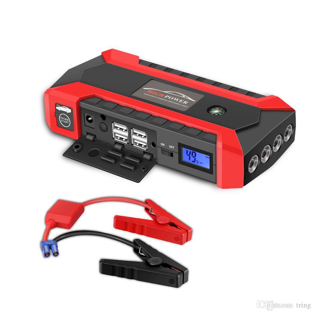 자동차 점프 스타터 600A 피크 20000mAh 휴대용 자동차 배터리 전원 공급 장치 전화 배터리 충전기 자동차 배터리 부스터