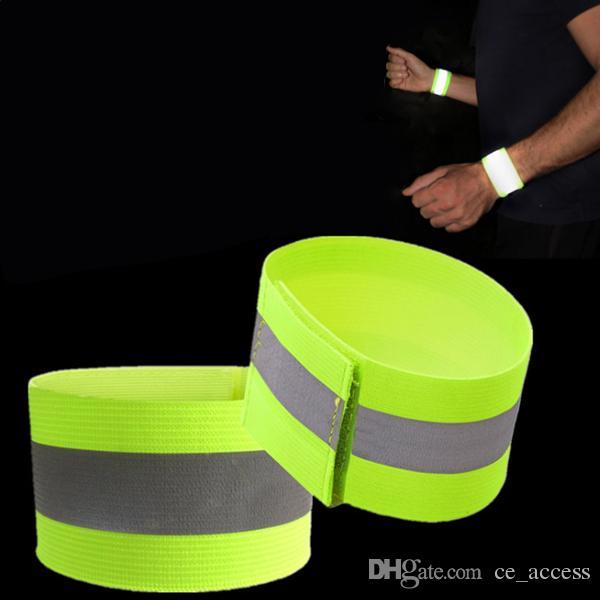 Ultralight Safety Reflective Warning 3m Cintura con cinturino da gamba Cinturino da caviglia per accessori sportivi da esterno Night Cycling Protector Angel
