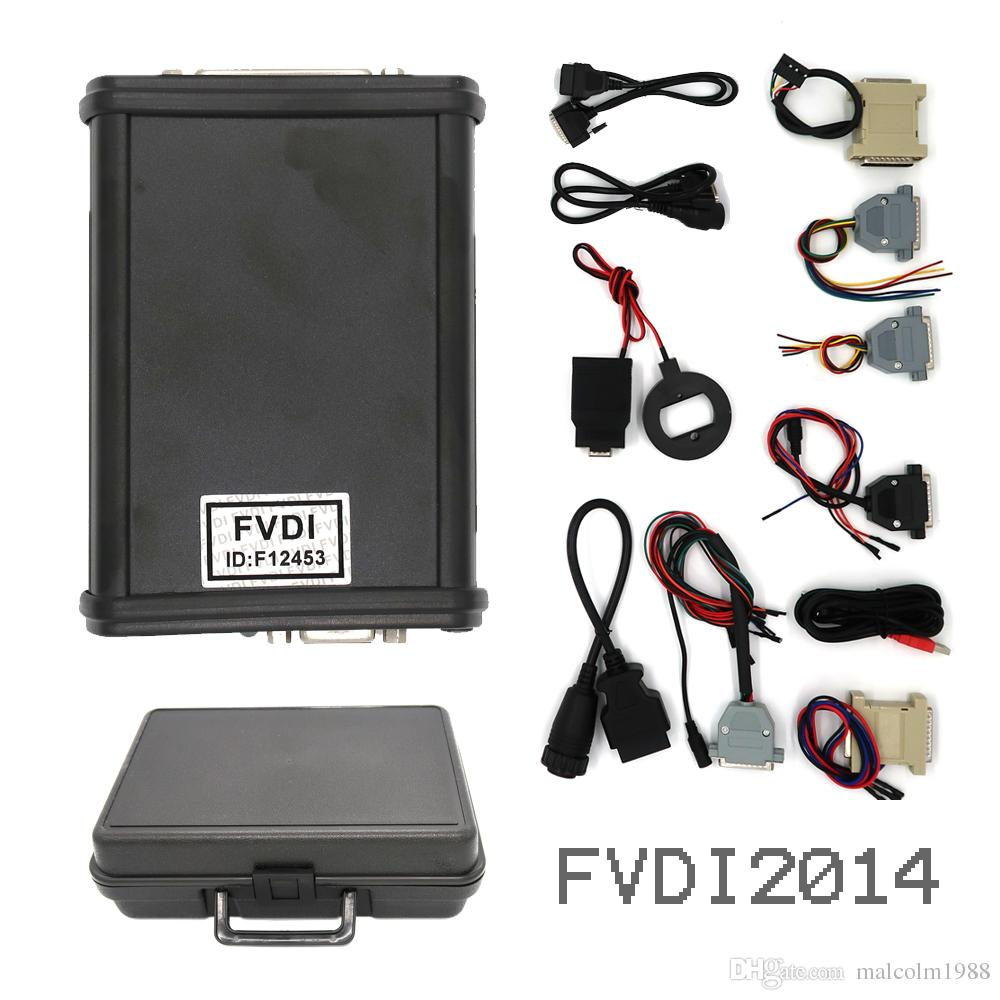 V2014 FVDI Full Version (Including 18 Software) FVDI ABRITES Commander FVDI Diagnostic Scanner tool in stock DHL FREE