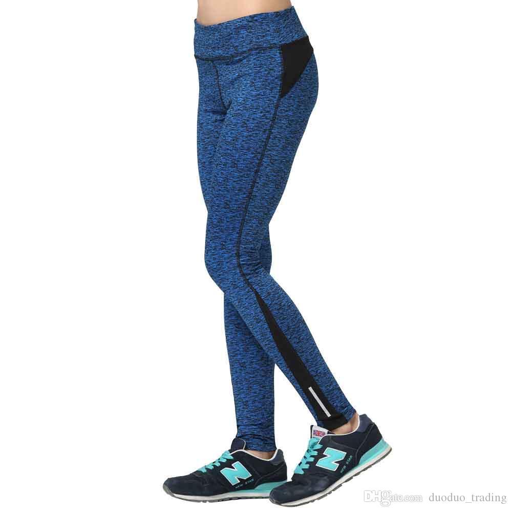 Weibliche Strumpfhosen Sport Frau Gym Leggins Sport-Gamaschen für Frauen Fitness Sports Nahtlose hohe Taillen-Bauch-Steuer Yoga Pants Hot Produkte