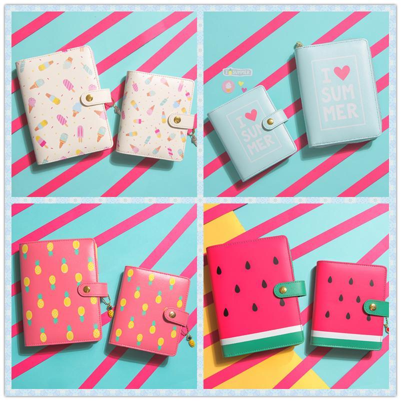 Lovedoki Bonbonfarben Hallo Sommer Persönliche Tagebuch Planer Kawaii Nette Kreative Notebook Süße Agenda Organizer Geschenke Schreibwaren