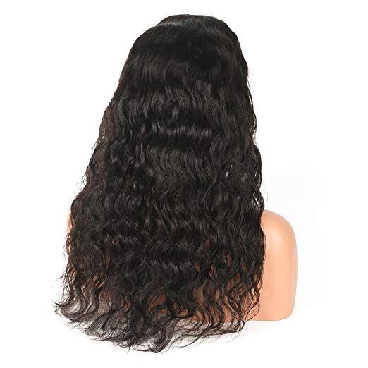 """Natürliche lockige Welle Brasilianisches Jungfrau-Haar Glueless volle Spitze-Menschenhaar-Perücken mit dem Baby-Haar 14 """"130% Dichte heißer Verkauf"""