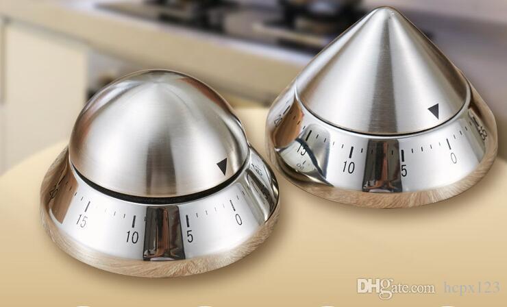 Mutfak zamanlayıcı hatırlatma zamanlayıcı mekanik paslanmaz çelik zamanlayıcı alarm süresini ayarlayabilirsiniz.